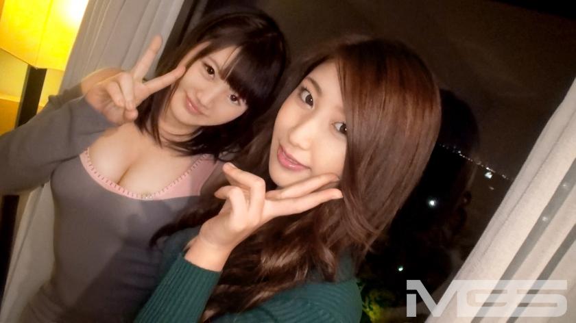 200GANA-871 つかさ 19歳 OL みゆ 19歳 OL 你選左還是右「爆乳與骨感櫻花妹」的拉拔戰